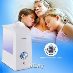 PureMate 3.5L Ultrasonic Humidifier with Night Light and Auto Shut off PM718