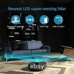 Robot Vacuum Cleaner & Collector Station laser lidar & Smart Dynamic Navigation