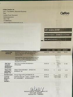 Sage the Dual Boiler Espresso Machine Silver (BES920UK)