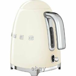 Smeg KLF03CRUK 50's Retro Cream Kettle Limescale Filter 3000 Watt