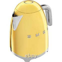 Smeg KLF03GOUK Gold Kettle Limescale Filter 3000 Watt