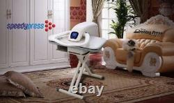 Steam Ironing Press 100HD Professional 101cm + Stand/Steamer/Iron/Filter/Cover +