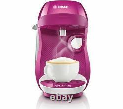 TASSIMO by Bosch Happy TAS1001GB Coffee Machine Purple & White Currys