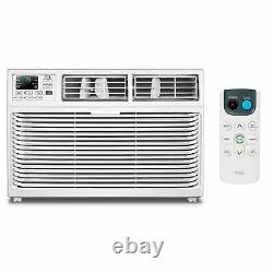 TCL 6,000 BTU Home Window Air Conditioner with LED Display and Remote, White