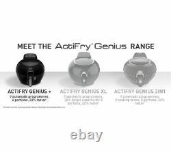 TEFAL ActiFry Genius+ FZ773840 Air Fryer 1.2kg 6 Portions Black Currys
