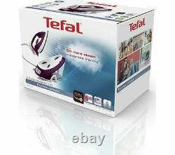 TEFAL Express Compact Anti-Scale SV7120 Steam Generator Iron Purple & White