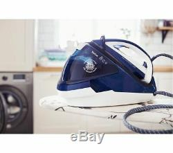 TEFAL Pro Express Care High Pressure GV9060G0 Steam Generator Iron Blue & White