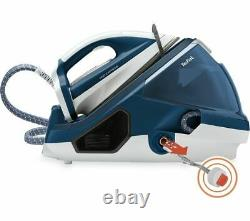 TEFAL Pro Express GV7850 Steam Generator Iron Blue & White Currys