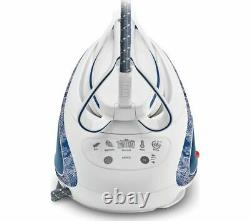 TEFAL Pro Express Ultimate GV9569 Steam Generator Iron Blue & White Currys