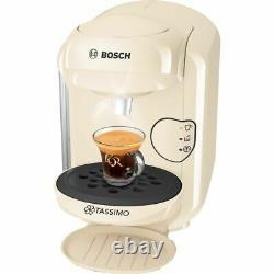 Tassimo by Bosch TAS1407GB Vivy 2 Pod Coffee Machine 1300 Watt Cream