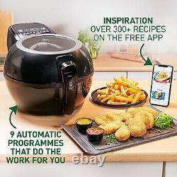 Tefal FZ773840 Actifry Genius+ Air Fryer Heathy Cooking 6Portions 1400W Black