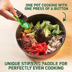 Tefal FZ773840 NEW Actifry Genius+ Air Fryer Heathy Cooking 6Portion 1400W Black