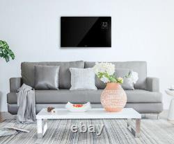 Wärme WiFi Designer Electric Panel Heater Refurbished Generation X Black