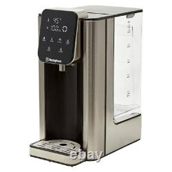Westinghouse 2.7L Electric Instant Hot Water Dispenser/Boil LCD Stainless Steel